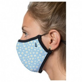 Abbacino Adult Mask Margaritas/Light Blue